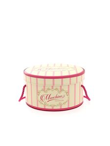 Moschino - Chapelier bag in pink and yellow