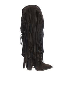 Dsquared2 - Fringed boots in brown