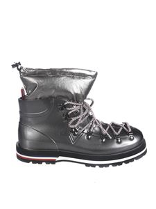 Moncler - Inaya ankle boots in grey