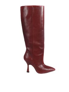 Stuart Weitzman - Parton boots in red
