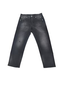 Balmain - Branded jeans in black