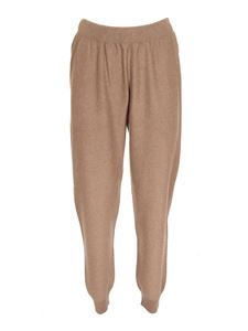 Fabiana Filippi - Knitted pants in brown