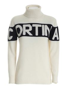 MC2 Saint Barth - Cortina embroidery turtleneck in cream color
