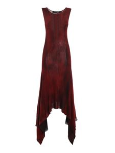 Avant Toi - Cashmere and silk blend jumpsuit in red