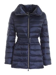 Save the duck - Quilted puffer jacket in blue