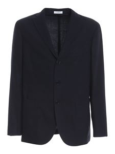 Boglioli - Worsted wool suit in blue