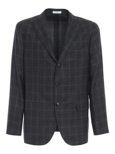 Boglioli - Worsted wool suit in grey