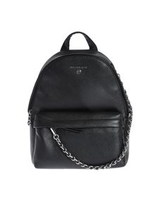 Michael Kors - Black backpack with chain