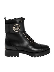 Michael Kors - Logo ankle boots in black