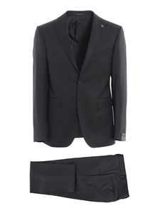 Tagliatore - Super 100'S virgin wool suit in grey