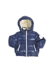 Moncler Jr - Citisio down jacket in blue