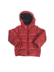 Moncler Jr - New Macaire down jacket in red
