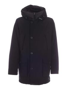 Woolrich - Eco parka down jacket in black