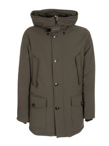 Woolrich - Tech Stretch Arctic parka in green
