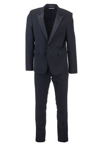 Saint Laurent - Virgin wool suit in black
