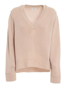 Parosh - V neck jumper in pink