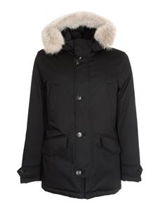 Woolrich - Laminated Parka HC in black