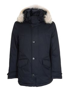 Woolrich - Laminated Parka HC in blue