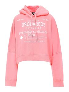 Dsquared2 - Logo printed sweatshirt in pink