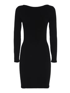 Dsquared2 - Stretch knitted dress in black