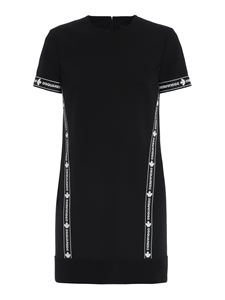 Dsquared2 - Stretch wool blend dress in black