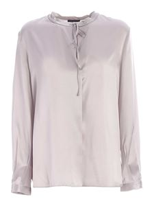 Les Copains - Silk blouse in grey