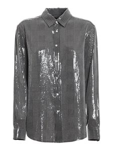 POLO Ralph Lauren - Sequined Prince of Wales shirt in grey