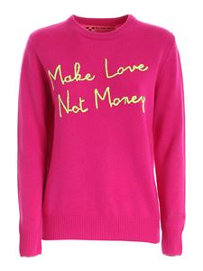 MC2 Saint Barth - Make Love Not Money embroidery pullover