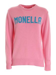 MC2 Saint Barth - Monella inlay pullover in pink