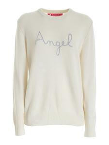 MC2 Saint Barth - Angel embroidery pullover in white