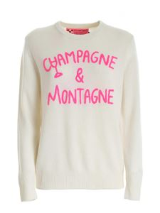 MC2 Saint Barth - Champagne & Montagne embroidery pullover