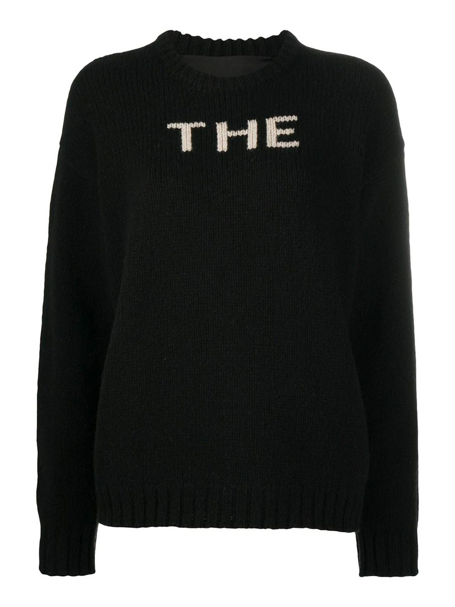 Marc Jacobs THE INLAY PULLOVER IN BLACK