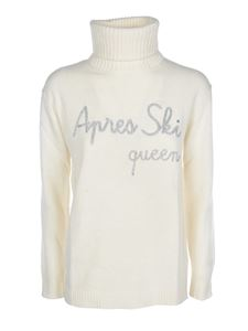 MC2 Saint Barth - Apres Ski Queen pullover in ivory color