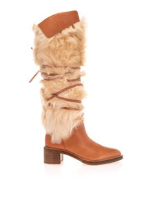 Celine - Folco boots in brown