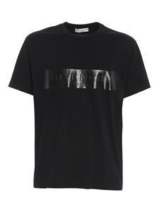 Givenchy - Branded cotton T-shirt in black
