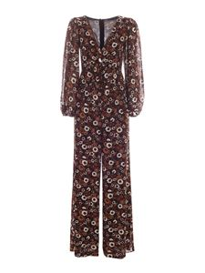 Michael Kors - Floral pattern jumpsuit in black and brown