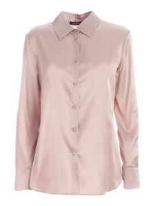 Les Copains - Silk shirt in nude color