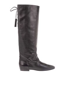 Celine - Black boots with tassels