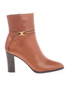 Celine - Triomphe ankle boots in brown