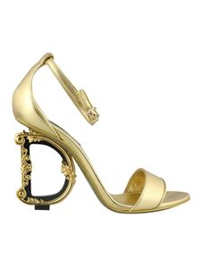 Dolce & Gabbana - Keira sandals in gold color