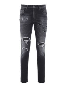 Dsquared2 - Dan skinny jeans in black
