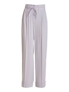 Emporio Armani - High waisted trousers in beige