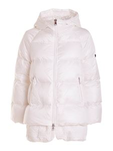Ermanno Scervino - Eco padded jacket in white