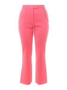 Givenchy - Crop flared trousers in pink