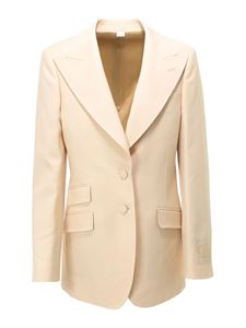 Gucci - Oversize single-breasted blazer in white