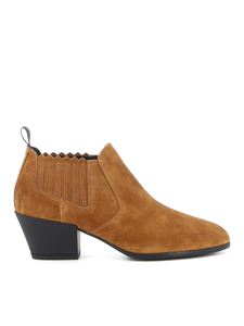 Hogan - H401 Chelsea boots in brown