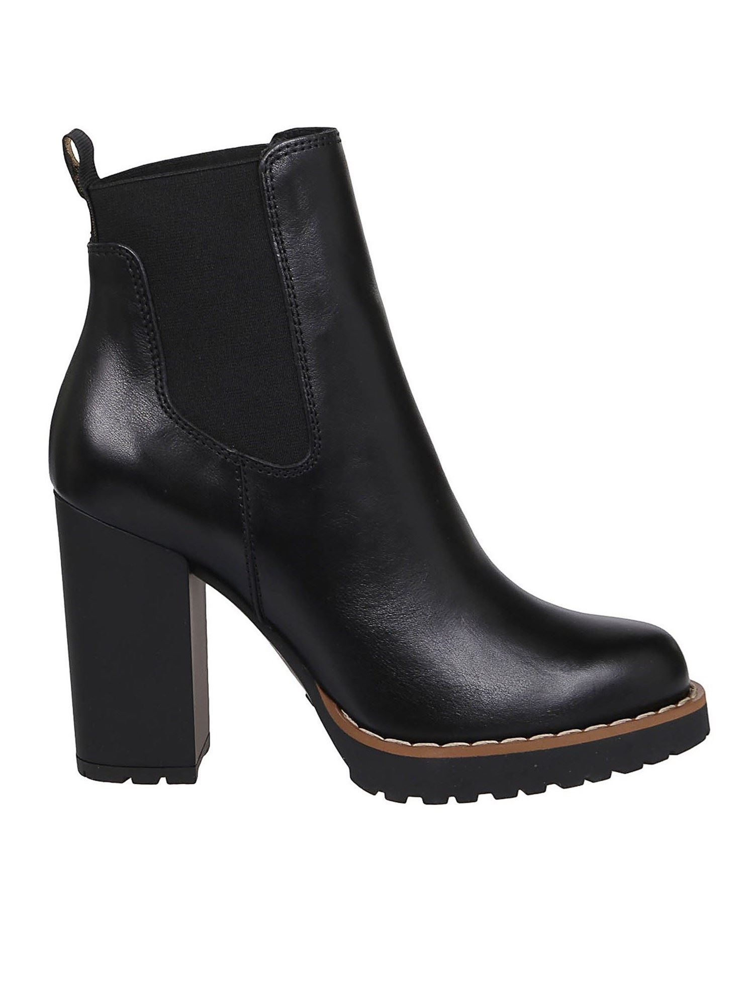 Hogan H542 CHELSEA BOOTS IN BLACK