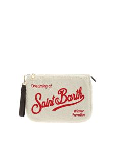MC2 Saint Barth - Dreaming of Saint Barth clutch bag in white