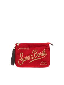 MC2 Saint Barth - Dreaming of Saint Barth clutch bag in red