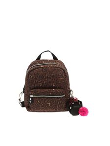 Gum Gianni Chiarini - Camera Bag animal print backpack with charm